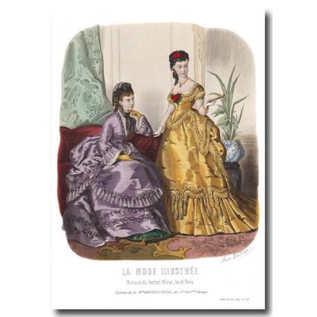 La Mode Illustrée 1870 46