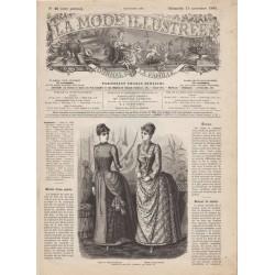 Complete magazine La Mode Illustrée 1885 N°46