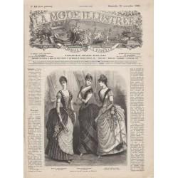 журнал мода La Mode Illustrée 1885 N°48