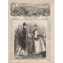 журнал мода La Mode Illustrée 1885 N°50