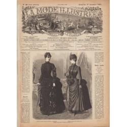 Complete magazine La Mode Illustrée 1885 N°52