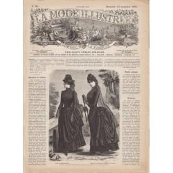журнал мода La Mode Illustrée 1885 N°37