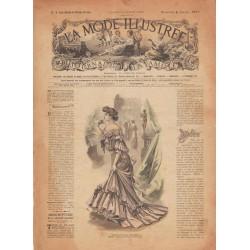 Complete magazine La Mode Illustrée 1903 N°1