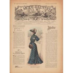 Complete magazine La Mode Illustrée 1903 N°2
