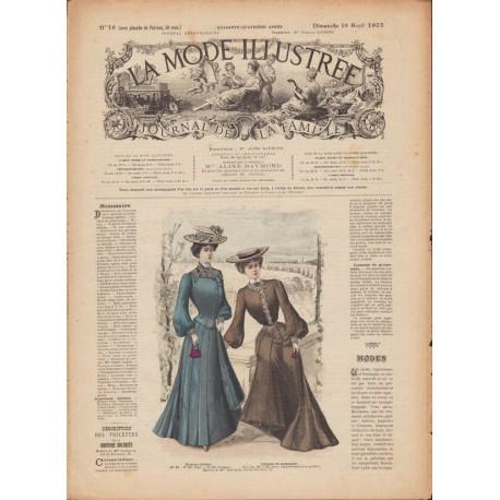 Complete magazine La Mode Illustrée 1903 N°16