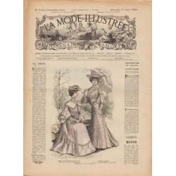 Complete magazine La Mode Illustrée 1903 N°29