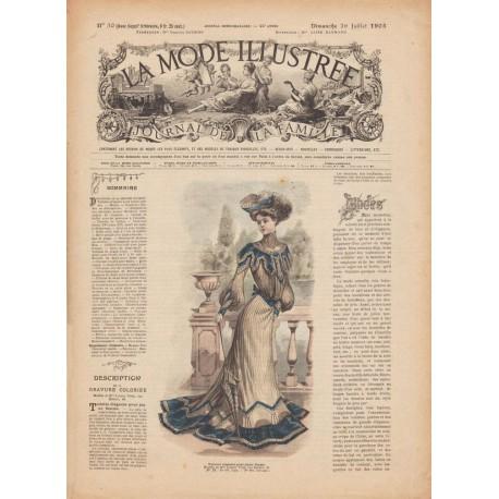 Complete magazine La Mode Illustrée 1903 N°30