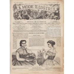 Revue complète de La Mode Illustrée 1866 N°01