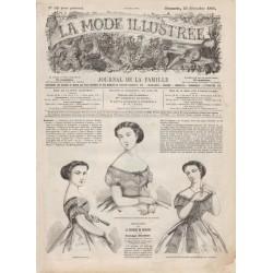 Complete magazine La Mode Illustrée 1866 N°52