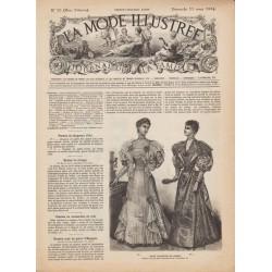Revue complète de La Mode Illustrée 1894 N°10