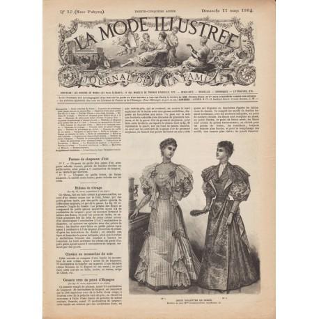 Complete magazine La Mode Illustrée 1894 N°10