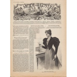журнал мода La Mode Illustrée 1894 N°12