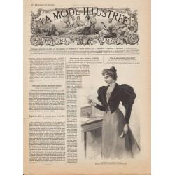 Complete magazine La Mode Illustrée 1894 N°12