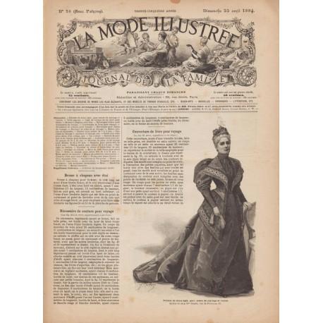 журнал мода La Mode Illustrée 1894 N°16