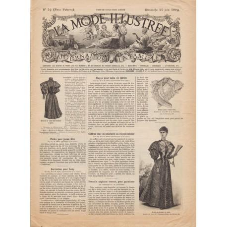 Complete magazine La Mode Illustrée 1894 N°24
