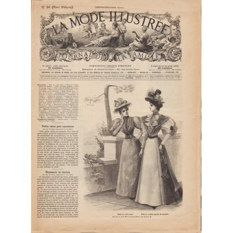 журнал мода La Mode Illustrée 1894 N°26