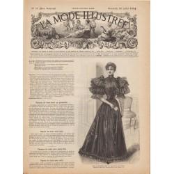 журнал мода La Mode Illustrée 1894 N°30