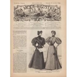 Complete magazine La Mode Illustrée 1894 N°46