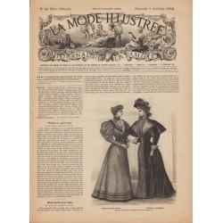 Revue complète de La Mode Illustrée 1894 N°49