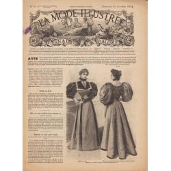 журнал мода La Mode Illustrée 1894 N°50