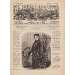 журнал мода La Mode Illustrée 1882 N°06