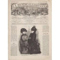 журнал мода La Mode Illustrée 1882 N°08