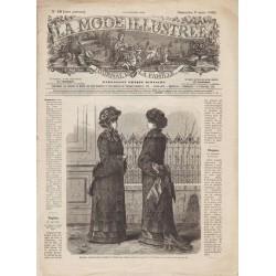 Revue complète de La Mode Illustrée 1882 N°10