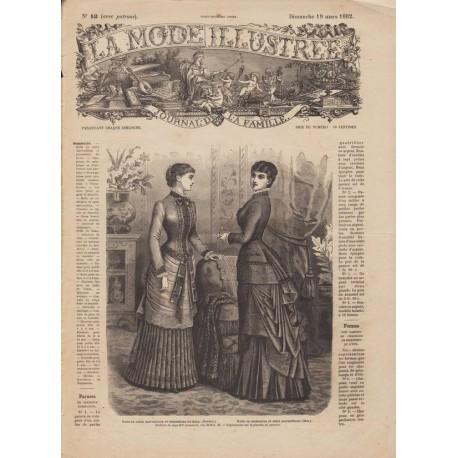 Complete magazine La Mode Illustrée 1882 N°12