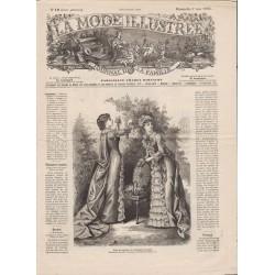 Complete magazine La Mode Illustrée 1882 N°19