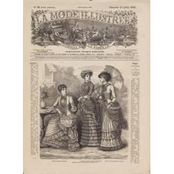 журнал мода La Mode Illustrée 1882 N°30