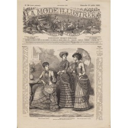 Revue complète de La Mode Illustrée 1882 N°30