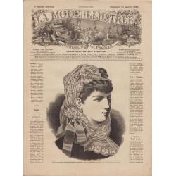 Complete magazine La Mode Illustrée 1882 N°03