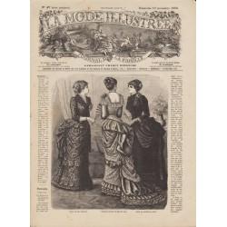 журнал мода La Mode Illustrée 1882 N°47