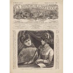 Complete magazine La Mode Illustrée 1882 N°52