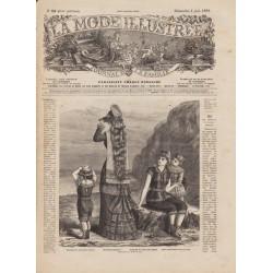 Revue complète de La Mode Illustrée 1882 N°23