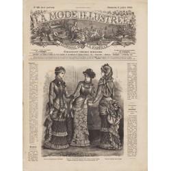 Revue complète de La Mode Illustrée 1882 N°28