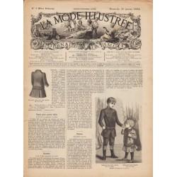 журнал мода La Mode Illustrée 1892 N°05
