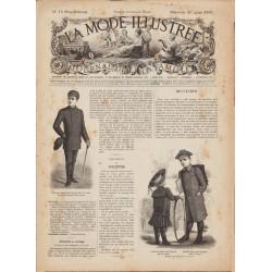 журнал мода La Mode Illustrée 1892 N°12