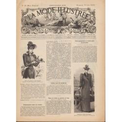 журнал мода La Mode Illustrée 1892 N°25