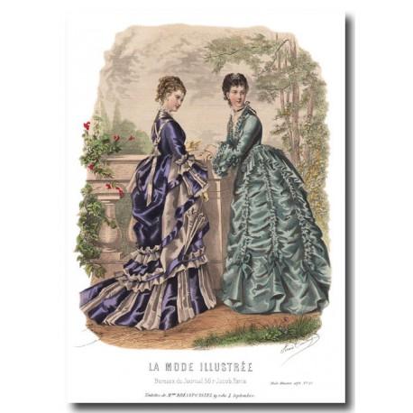 La Mode Illustrée 1873 29