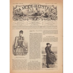 журнал мода La Mode Illustrée 1892 N°27