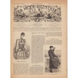 Complete magazine La Mode Illustrée 1892 N°27