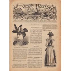журнал мода La Mode Illustrée 1892 N°29