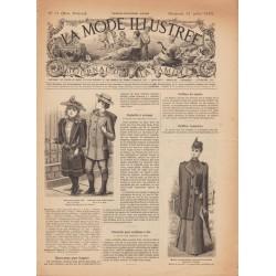 журнал мода La Mode Illustrée 1892 N°31