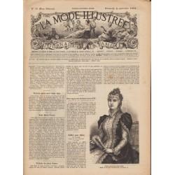 Revue complète de La Mode Illustrée 1892 N°36