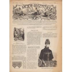журнал мода La Mode Illustrée 1892 N°38