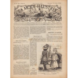 журнал мода La Mode Illustrée 1892 N°42