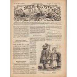 Revue complète de La Mode Illustrée 1892 N°42