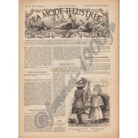 Complete magazine La Mode Illustrée 1892 N°42