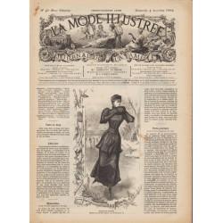 Complete magazine La Mode Illustrée 1892 N°49